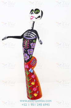 Frida flowery skeleton II
