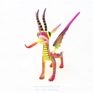 Wood Carving Art, Alebrije Dragón