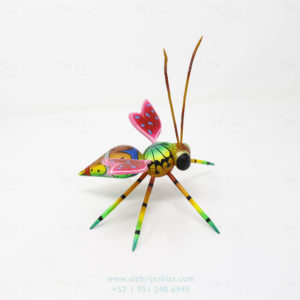 Wood Carving Art, Alebrije Abeja II