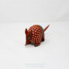 Mexican Folk Art, Alebrije Flowered Armadillo IX