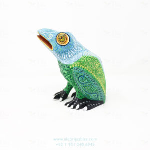 Mexican Art Decor, Alebrije Wild Frog