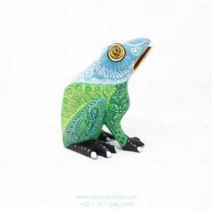Mexican Art Decor, Alebrije Wild Frog
