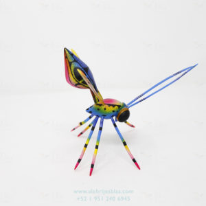 Mexican Art Decor, Alebrije Avispa IX