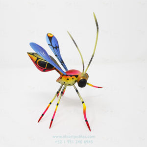 Wood Carving Art, Alebrije Avispa X