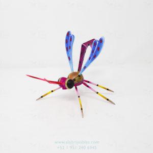 Wood Carving Art, Alebrije Scorpion Wasp X