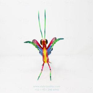 Mexican Art Decor, Alebrije Mantis Religiosa IX