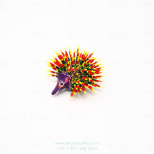 Mexican Art Decor, Alebrije Puerco Espin III