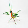 Wood Carving Art, Alebrije Mantis Religiosa I