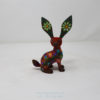 Mexican Art Decor, Alebrije Flowery Conejo V