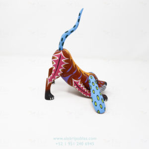 Wood Carving Art, Alebrije Perro II