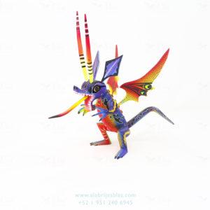 Original Oaxacan Art, Alebrije Dragón Chupacabras