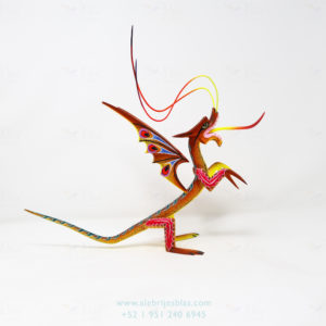 Mexican Folk Art, Alebrije Dragón XI