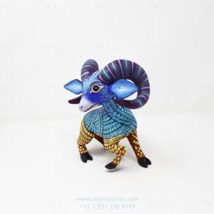 Mexican Art Decor, Alebrije Bighorn Sheep