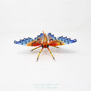 Mexican Art Decor, Alebrije Mariposa IX