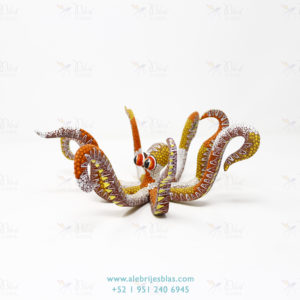 Wood Carving Art, Alebrije Pulpo IV