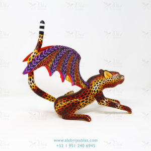 Mexican Folk Art, Alebrije Cheeta Volador