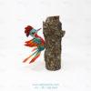 Wood Carving Art, Alebrije Pájaro Carpintero X