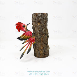 Mexican Folk Art, Alebrije Pájaro Carpintero IV