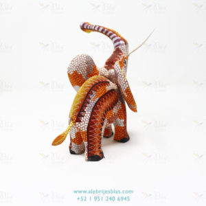 Wood Carving Art, Alebrije Elefante