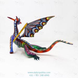 Original Oaxacan Art, Alebrije Dragón Veloz
