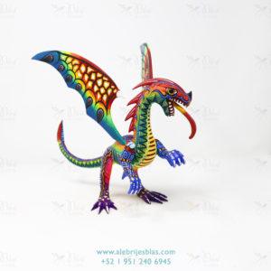 Original Oaxacan Art, Alebrije Dragón de Cresta