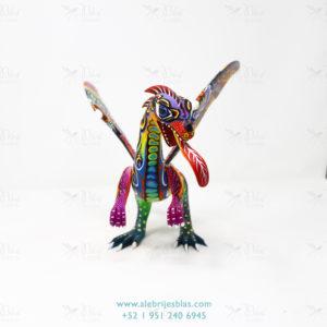 Mexican Folk Art, Alebrije Dragón de Cresta II