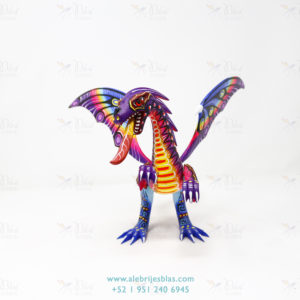 Original Oaxacan Art, Alebrije Dragón de Cresta V
