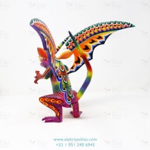 Mexican Art Decor, Alebrije Dragón Mounstro