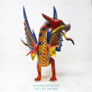 Mexican Folk Art, Alebrije Dragón de Feroz