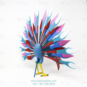 Original Oaxacan Art, Alebrije Pavoreal Peacock III