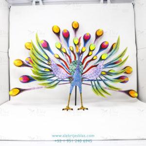 Mexican Folk Art, Alebrije Pavoreal Peacock VIII