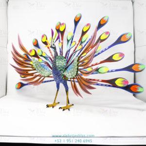 Wood Carving Art, Alebrije Pavoreal Peacock X