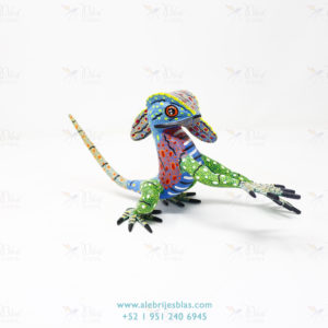 Mexican Art Decor, Alebrije Basilisco