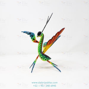 Mexican Folk Art, Alebrije Mantis Religiosa X