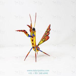 Mexican Art Decor, Alebrije Mantis Religiosa XI