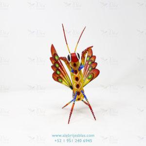 Mexican Art DecMexican Art Decor, Alebrije Mantis Religiosa XIor, Alebrije Mantis Religiosa XI