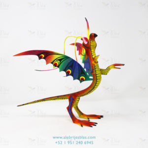 Mexican Folk Art, Alebrije Dragón Mexicano