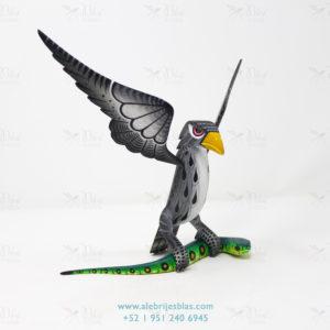 Mexican Art Decor, Alebrije Águila sobre Serpiente