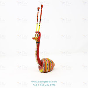 Wood Carving Art, Alebrije Caracol Inocente II