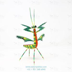 Mexican Folk Art, Alebrije Mantis Religiosa IV