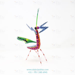 Mexican Art Decor, Alebrije Mantis Religiosa V