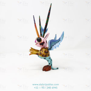 Mexican Art Decor, Alebrije Marcianito III
