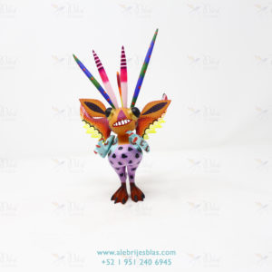 Wood Carving Art, Alebrije Marcianito V