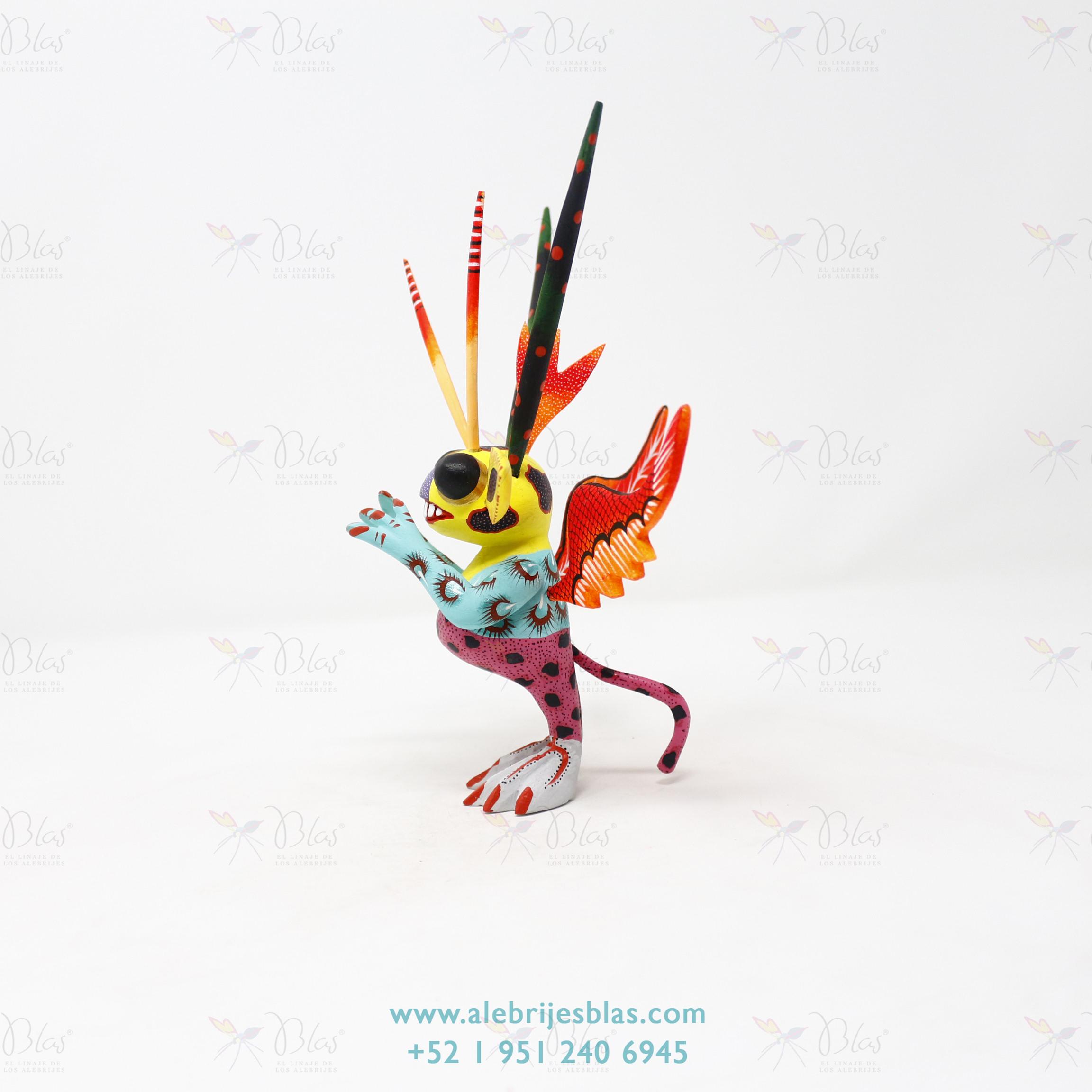 Mexican Folk Art, Alebrije Marcianito VIII