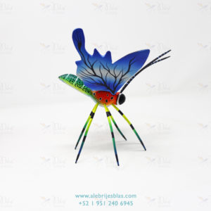 Mexican Art Decor, Alebrije Mariposa III