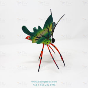 Wood Carving Art, Alebrije Mariposa V