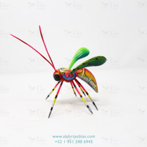 Mexican Art Decor, Alebrije Avispa XIV
