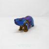 Talla de madera Alebrije Tepezcuintle por César Blas