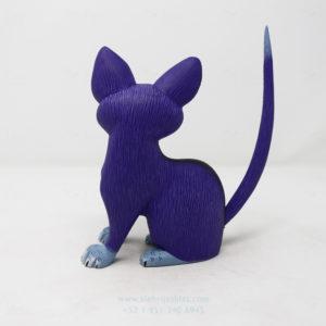Alebrije Gato tallado por Ángel Ramírez
