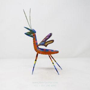 Mantis Floral Tallada por Paul Blas
